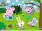 30 ел. - Свинка Пеппа. Лісова експедиція / Peppa Pig / Trefl 0