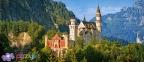 600 эл. - Замок Нойшванштайн, Германия / Castorland 0