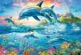 1500 ел. - Адріан Честерман. Родина дельфінів / MGL / Trefl 0
