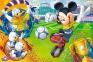 100 ел. - Мишка Міккі на футбольному полі / Disney Standard Characters / Trefl 0