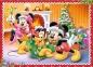 4 в 1 (35,48,54,70) ел. - Мишка Міккі та друзі. Різдвяний час / Disney Standard Characters / Trefl 2