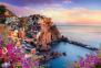 1500 эл. - Вид на город Манарола, Италия / Trefl 0