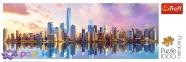 1000 эл. Panorama - Вид на Манхэттен, Нью-Йорк / Trefl 0