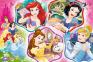 100 ел. - Магія Принцес / Disney Princess / Trefl 0