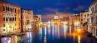 600 ел. - Гранд-канал уночі, Венеція / Castorland 0