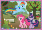 4 в 1 (35,48,54,70) ел. – Канікули маленьких Поні / Hasbro, My Little Pony / Trefl 0