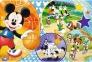 24 ел. Максі - Мишка Міккі. Час для спорту / Disney Standard Characters / Trefl 0