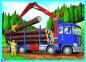 4 в 1 (35, 48, 54,70) эл. - Большие строительные машини / Trefl 4