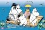 60 ел. - Мумі-тролі на озері / R&B Licensing AB Moomins / Trefl 0