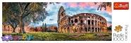 1000 ел. Panorama - Колізей на світанку, Рим / Trefl 0