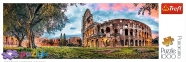 1000 эл. Panorama - Колизей на рассвете, Рим / Trefl 0