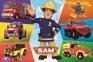 100 ел. - Транспорт пожежника Сема / Prism A&D Fireman Sam / Trefl 0
