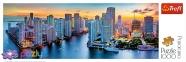 1000 эл. Panorama - Майами в сумерках, США / Trefl 0