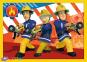 4 в 1 (12,15,20,24) ел. - Пожежник Сем та його команда / Prism A&D Fireman Sam / Trefl 3