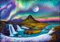 600 эл. Crazy Shapes - Полярное сияние над Исландией / 500px / Trefl 0