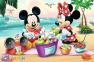 24 эл. Макси – Микки-маус и друзья. Пикник на пляже / Disney Standard Characters / Trefl 0