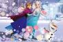 160 эл. - Холодное сердце. Катание на коньках / Disney Frozen / Trefl 0