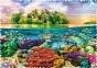 600 эл. Crazy Shapes - Тропический остров / 500px / Trefl 0