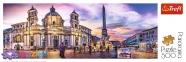 500 ел. Panorama - П'яцца Навона, Рим, Італія / Trefl 0