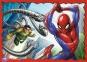 4 в 1 (35, 48, 54,70) ел. - У сітці спайдермена / Disney Marvel Spiderman / Trefl 3