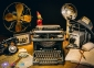 500 ел. High Quality Collection - Старовинна друкарська машинка / Clementoni 0