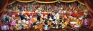 1000 эл. Панорама - Диснеевский оркестр / Disney / Clementoni 0