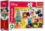 54 ел. Міні - Різдво з Мишкою Міккі / Disney Standard Characters / Trefl 4