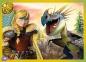 4 в 1 (35,48,54,70) эл. - Как приручить дракона? / Universal How to Train Your Dragon / Trefl 0
