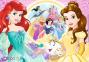 100 ел. Glitter - Прогулянка Принцес / Disney Princess / Trefl 0
