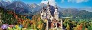 1000 эл. Panorama High Quality Collection - Замок Нойшванштайн, Германия / Clementoni 0