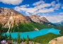 500 ел. - Озеро Пейто, Канада / Castorland 0