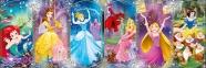 1000 ел. Панорама - Діснеївські Принцеси. Колаж / Disney Princess / Clementoni 0
