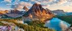 600 ел. - Національний парк Банф, Канада / Castorland 0