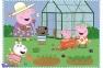 4 в 1 (35,48,54,70) эл. - Свинка Пеппа. Воспоминания с каникул / Peppa Pig / Trefl 2