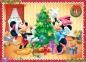 4 в 1 (35,48,54,70) ел. - Мишка Міккі та друзі. Різдвяний час / Disney Standard Characters / Trefl 0