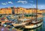 1500 эл. - Старый порт в Сен-Тропе, Франция / Trefl 0