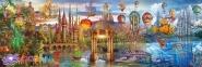 1000 ел. Panorama High Quality Collection - Світ Фентезі / Clementoni 0