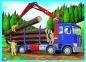 4 в 1 (12,15,20,24) эл. - Большие строительные машины / Trefl 4
