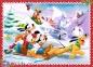 4 в 1 (35,48,54,70) ел. - Мишка Міккі та друзі. Різдвяний час / Disney Standard Characters / Trefl 3