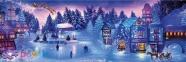 1000 эл. Panorama - Christmas Collection. Рождественский сон / Clementoni 0