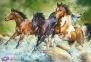 1500 эл. - Трое диких лошадей / Trefl 0