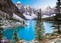 1000 эл. - Украшение скалистых гор, Канада / Castorland 0