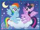 2 в 1 (30,48) эл.+ Мемос – Мои маленькие Пони. Дружба - это магия / Hasbro, My Little Pony / Trefl 1