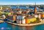 500 ел. - Старе місто, Стокгольм, Швеція / Castorland 0
