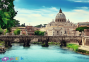1000 эл. - Мост Святого Ангела, Рим, Италия / Trefl 0