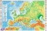 1000 эл. - Физическая карта Европы / Trefl 0