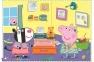 4 в 1 (35,48,54,70) эл. - Свинка Пеппа. Воспоминания с каникул / Peppa Pig / Trefl 0