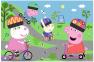 24 эл. Макси - Активный день Свинки Пеппы / Peppa Pig / Trefl 0
