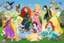100 эл. - Очаровательные Принцессы / Disney Princess / Trefl 0