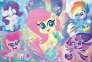 100 эл. Glitter - Блестящие Пони / Hasbro, My Little Pony / Trefl 0